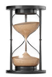 Closeup Sand hourglass Royalty Free Stock Images