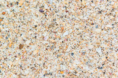 Closeup of sand pattern of a beach Royalty Free Stock Image