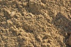 Closeup of sand pattern Stock Photo