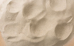 Closeup of sand pattern Stock Images