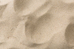 Closeup of sand pattern Royalty Free Stock Image