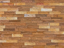 Closeup sand stone brick wall Royalty Free Stock Photo