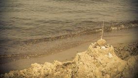Closeup of sea ocean and beach. Seaside. Stock Photo