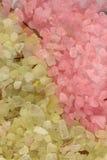 Closeup sea salt Stock Image