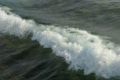 Closeup of sea surf Royalty Free Stock Photos