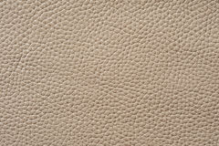 Closeup of seamless beige leather texture Stock Photography