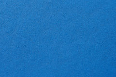 Closeup of seamless blue leather texture Stock Photo