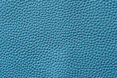 Closeup of seamless blue leather texture Royalty Free Stock Images