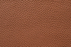 Closeup of seamless brown leather texture. For background Stock Photos