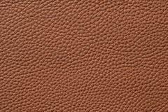 Closeup of seamless brown leather texture Stock Photos