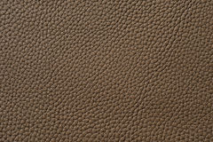Closeup of seamless brown leather texture Stock Photo