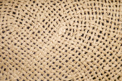 Closeup seamless fiber wicker Royalty Free Stock Photography