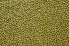 Closeup of seamless green leather texture. For background Stock Photo