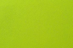 Closeup of seamless green leather texture Stock Photos