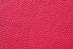 Closeup of seamless pink leather texture. For background Royalty Free Stock Images