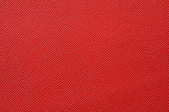 Closeup of seamless red leather texture Royalty Free Stock Photo