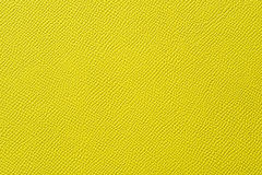 Closeup of seamless yellow leather texture Stock Image