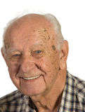 Closeup Senior Man Royalty Free Stock Photo