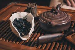 Closeup set of China tea Royalty Free Stock Image