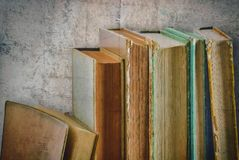 Very old books Stock Image