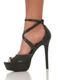 Closeup sexy high heel shoe Royalty Free Stock Images