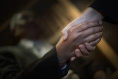 Closeup shaking hands Royalty Free Stock Photo