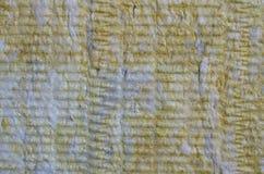 Closeup sheet rock wool Royalty Free Stock Images