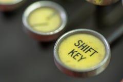 Antique Typewriter Shift Key royalty free stock image