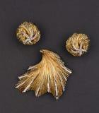 Closeup of shiny vintage jewelry Royalty Free Stock Photography