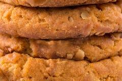 Closeup shot of cookies Stock Photos