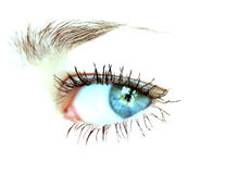 Closeup shot of eye Royalty Free Stock Images