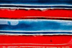 Closeup shot of glazed ceramics texture Royalty Free Stock Image
