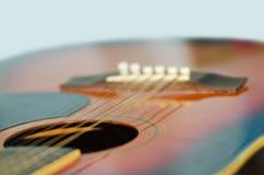 Closeup shot of guitar Royalty Free Stock Image