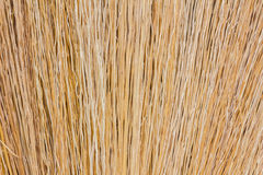 Closeup shot of the hand made broom like some backgrounds Royalty Free Stock Photography