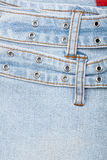 Closeup shot of jeans front Stock Photo