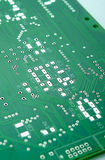 Closeup Shot of New Printed Circuit Board Prior to SMD and DIP C Stock Images