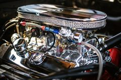 Free Closeup Shot Of A Clean Automotive Engine - Great For An Article About Modern Powerful Car Engines Royalty Free Stock Photos - 163122328