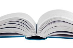 Closeup shot of opened book Royalty Free Stock Photography
