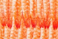 Closeup shot of shrimp. Stock Image