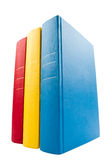 Closeup shot of stack of books Royalty Free Stock Photo