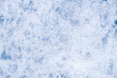 Closeup shot of winter ice texture background Royalty Free Stock Photography