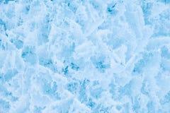 Closeup shot of winter ice texture background Stock Photo