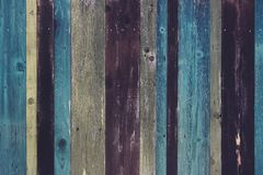 Closeup shot of a wood plank with colorful textures - great for a cool background