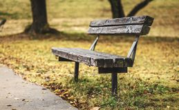 Autumn Resting Spot Royalty Free Stock Images