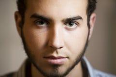 Closeup Shot of a Young Man stock image