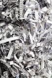 Closeup of shredded paper as abstract background Royalty Free Stock Photography