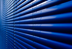 Closeup of  shutter at an office building Royalty Free Stock Photography