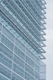Closeup of skyscraper. Detail of modern building Stock Photography
