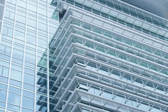 Closeup of skyscraper. Royalty Free Stock Photography