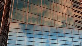 Closeup skyscraper glass windows,urban morden business buildings district. Office building in shanghai lujiazui finance center,urban morden business buildings stock video